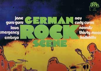 German Rock Scene, ein Sampler von Brain
