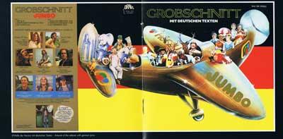 Grobschnitt: So sah das LP-Cover der deutschen Version von «Jumbo» aus (Mittelseite des CD-Begleithefts)