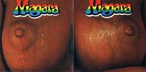 Niagara: Das bekannte Cover von «Niagara», aufgeklappt