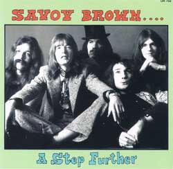 Savoy Brown: Rückseite des Begleithefts von »A Step Further«